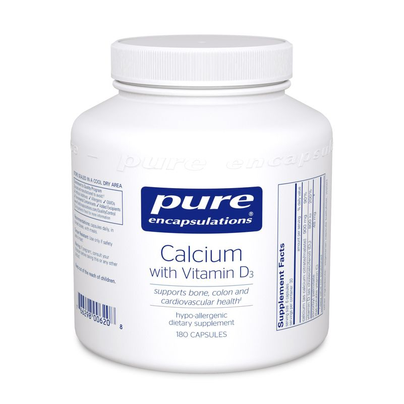 Calcium with Vitamin D3 – 180 count