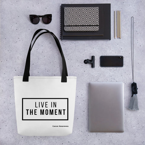 Tote bag - Live in the moment