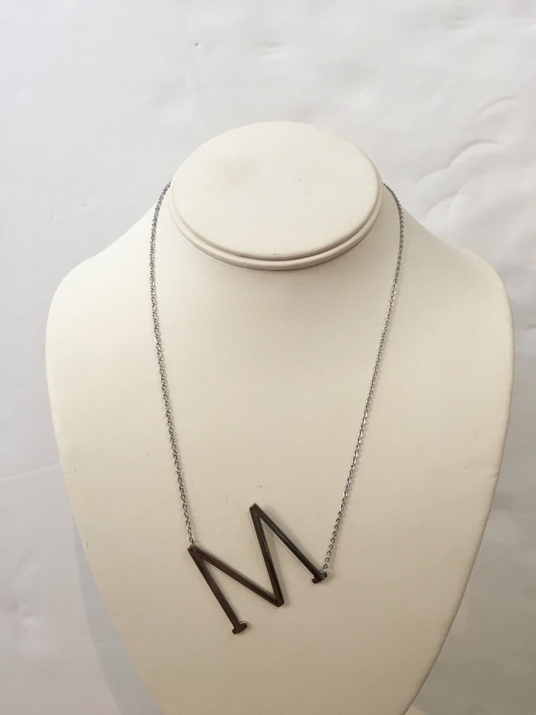 Large initial necklace luna chick large initial necklace aloadofball Images