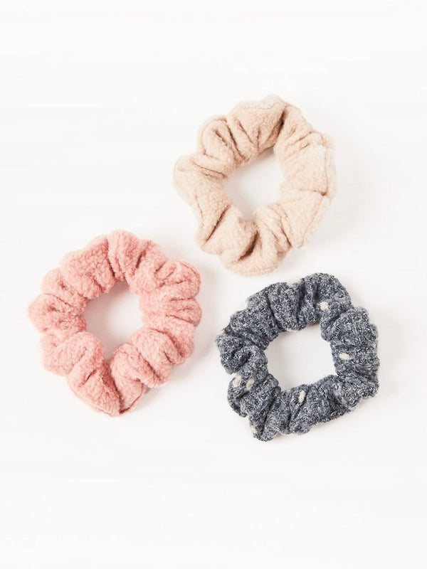 Dot Scrunchies 3-Pack