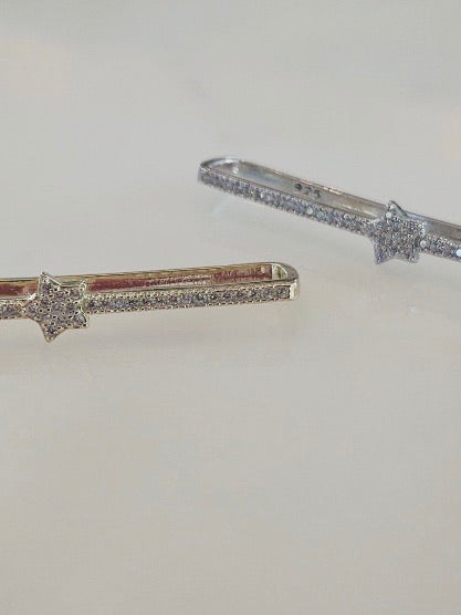 Star CZ Ear Bar