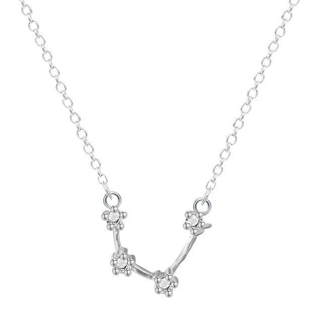 Written in the Stars Sterling Silver Necklace