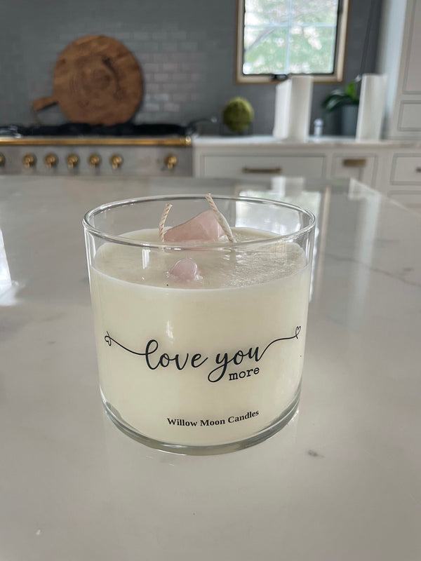Gemstone Love You More Candle