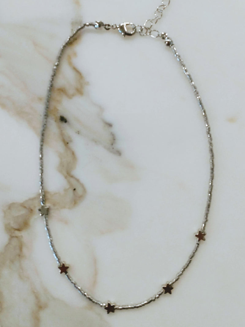 Star Beaded Choker