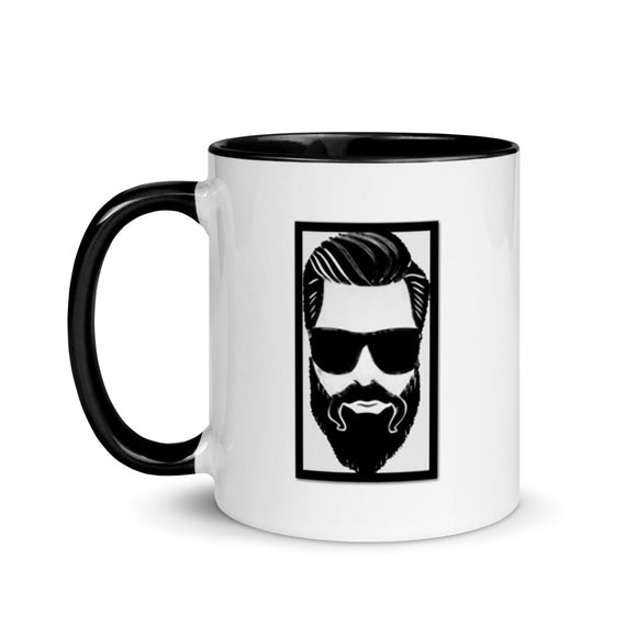 Bearded Cool Man Mug