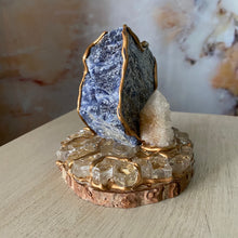 Load image into Gallery viewer, Spiritual Harmony / Sodalte / Spirit Quartz /  Home Decor / Gift of Good Intention
