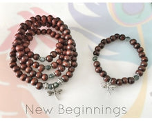 Load image into Gallery viewer, DIY NEW BEGINNINGS Mala Beads/ Mala Kit / Prayer Beads / Mala Beads