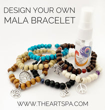 Load image into Gallery viewer, Design Your Own Mala Bracelet - 27 Beads - Prayer Beads - Intention Bracelet - Simple Reminder