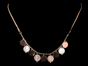 Gold Opal Decorative Necklace - All4Gold.com