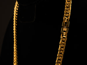 18K Gold 8mm Double Cuban Link - All4Gold.com