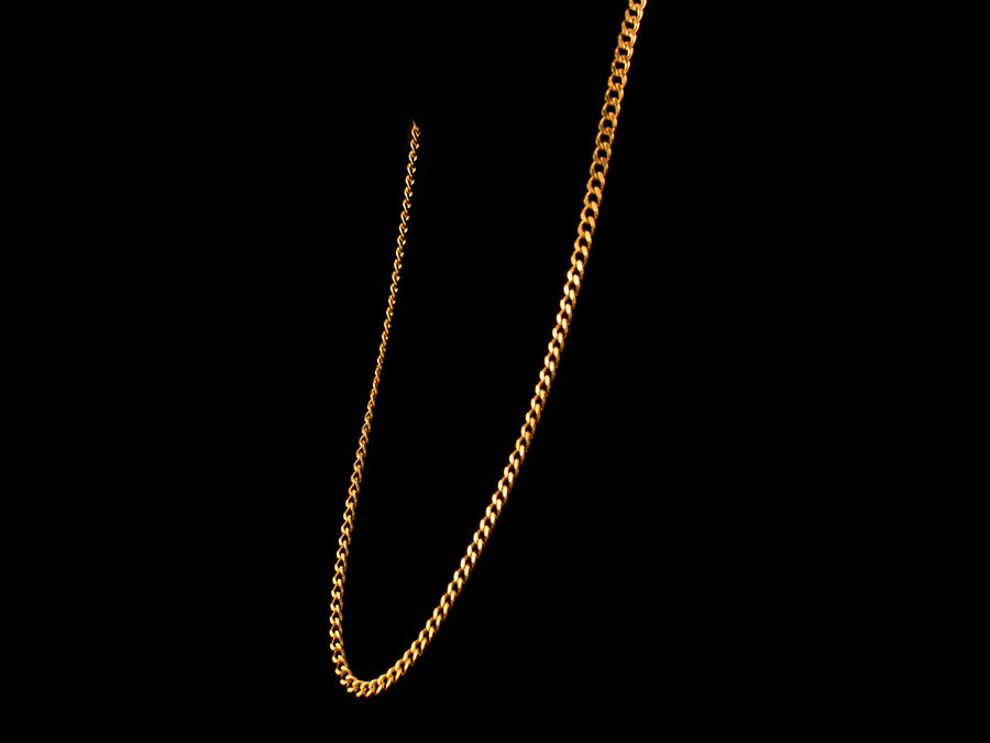 18K Gold 6mm Cuban Link Necklace - 28 Inch - All4Gold.com