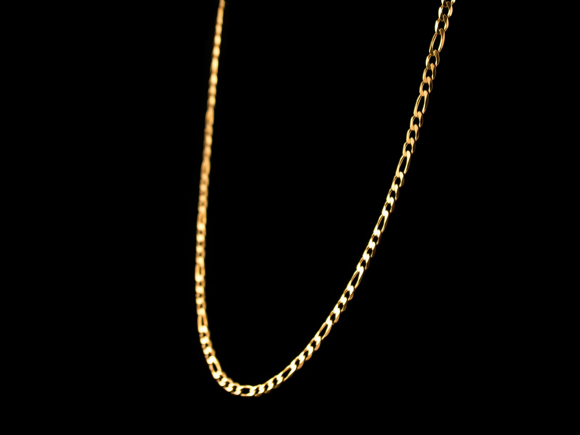 cuban i necklace women gold chain s inch white
