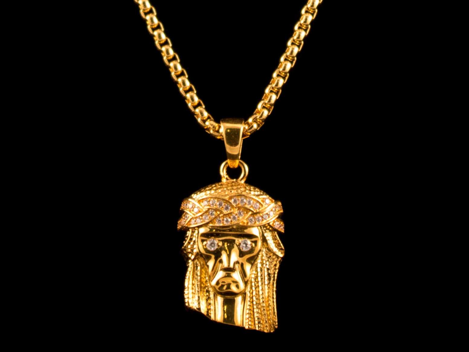 piece diamonds no standard products chain img west gold matching with diamond kanye next jesus necklace pendant