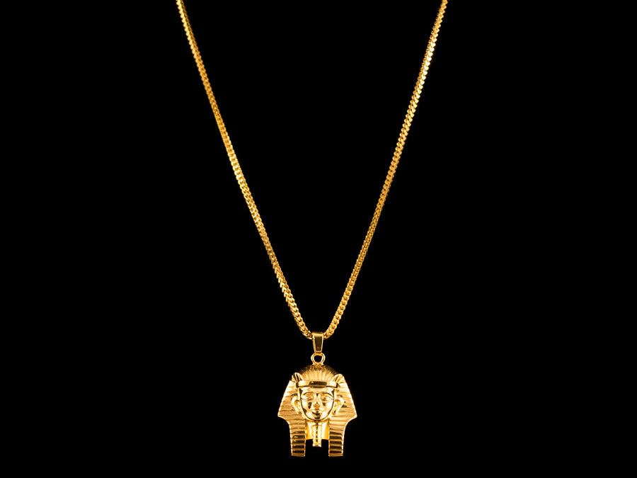 18K Gold Pharaoh Pendant - All4Gold.com