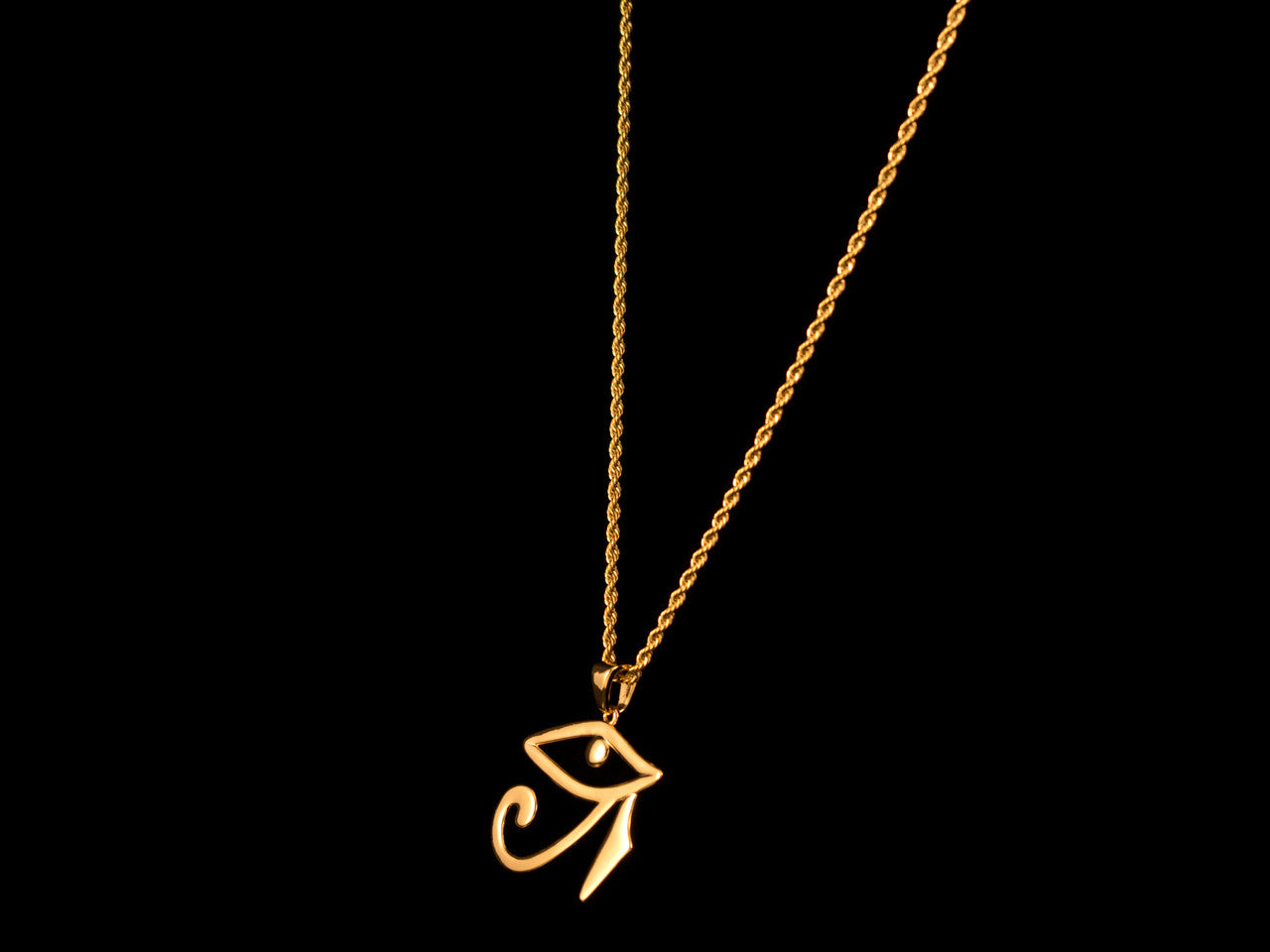 Gold Egyptian Eye of Horus