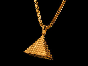 Great Pyramid Charm - All4Gold.com
