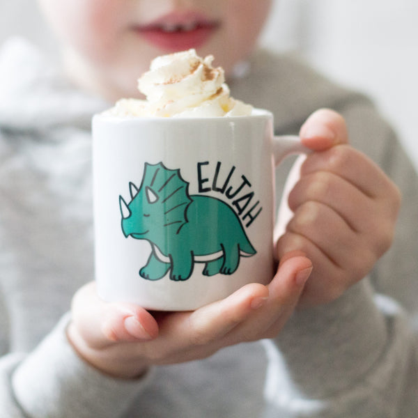 Personalised Kids Dinosaur Mug