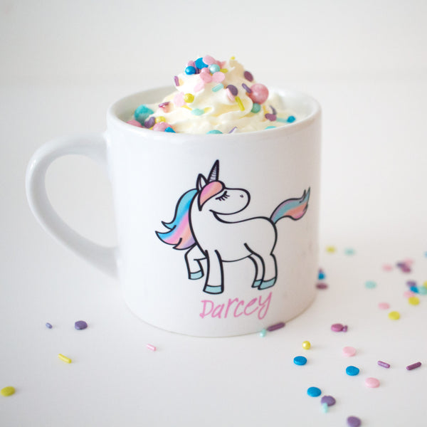 Personalised Kids Unicorn Mug