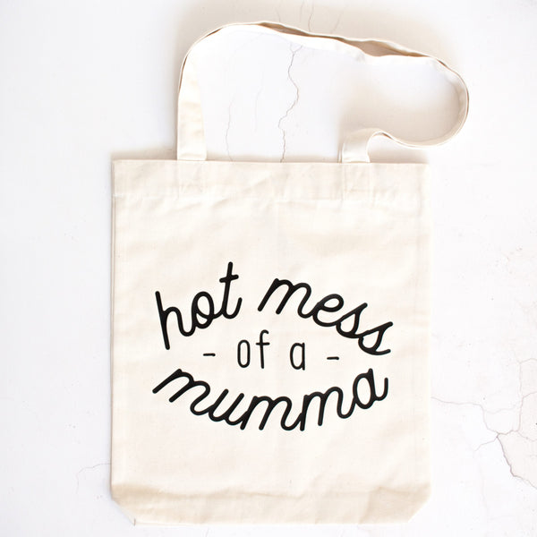 Hot Mess of a Mumma Tote Bag