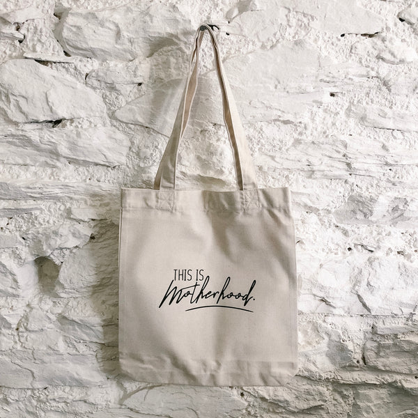 This is Motherhood Tote Bag