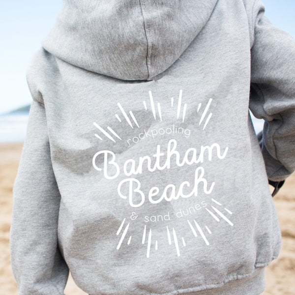Personalised Favourite Beach/Place Hoody