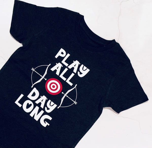 Play All Day Long T Shirt