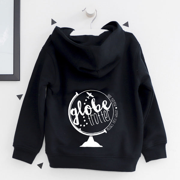Globe Trotter Zip Up Hoody