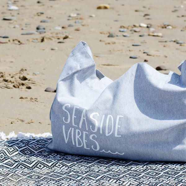 Seaside Vibes Organic Beach Bag