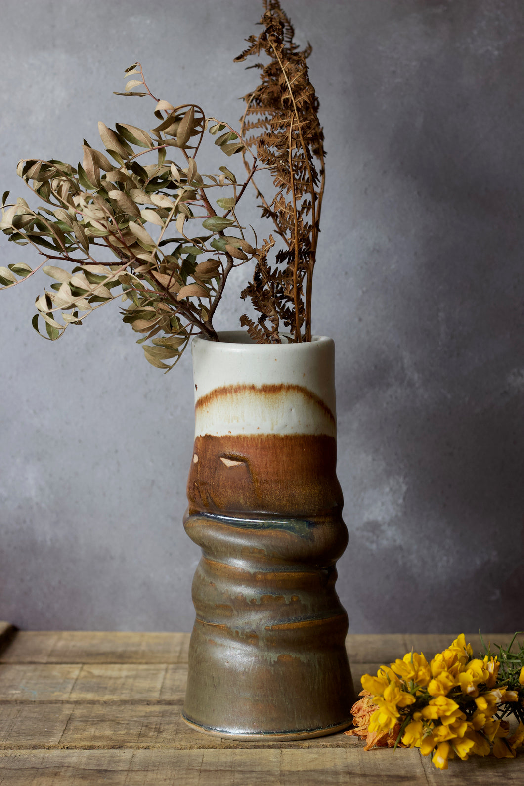Moorland Statement Vase