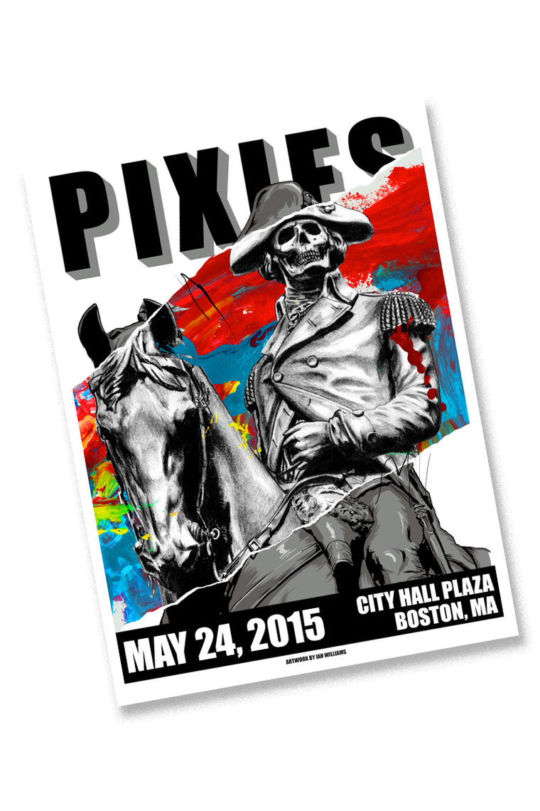 Pixies 5/24/15 Boston Event Poster