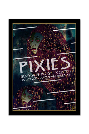 Pixies 7/11/2018 Cuyahoga Falls, OH Event Poster