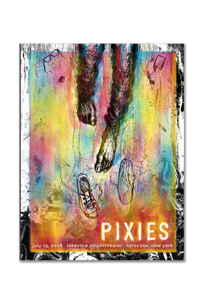 Pixies 7/15/2018 Syracuse, NY Event Poster