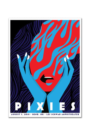 Pixies 8/5/2018 Bend, OR Event Poster