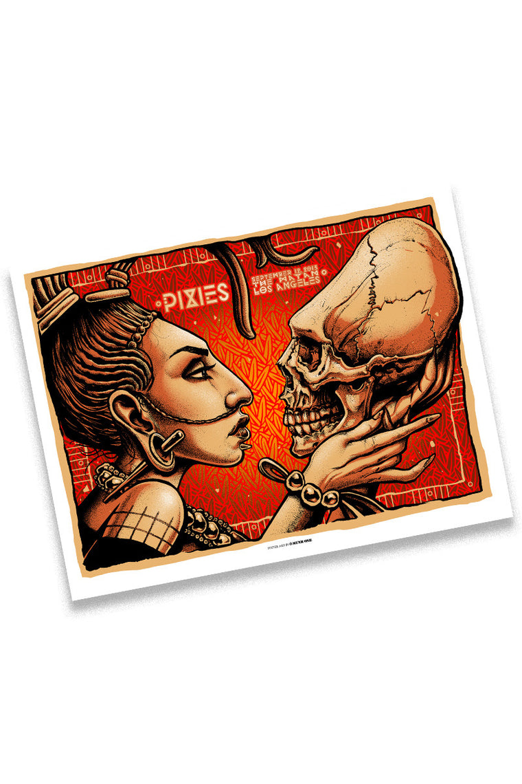 Pixies 9/12/13 Los Angeles Event Poster