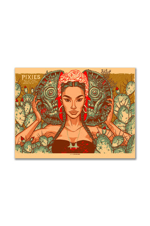 Pixies 11/18/2018 Brooklyn, NY Event Poster Munk One