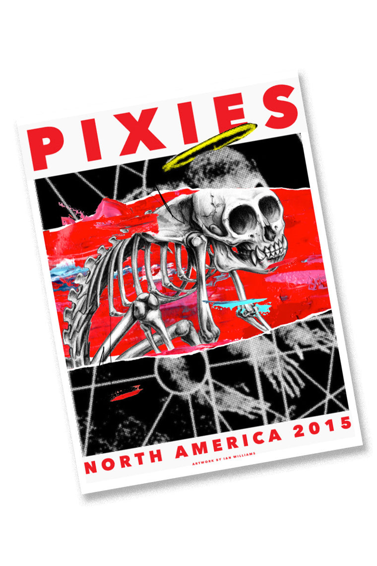 Pixies 2015 North American Tour Poster