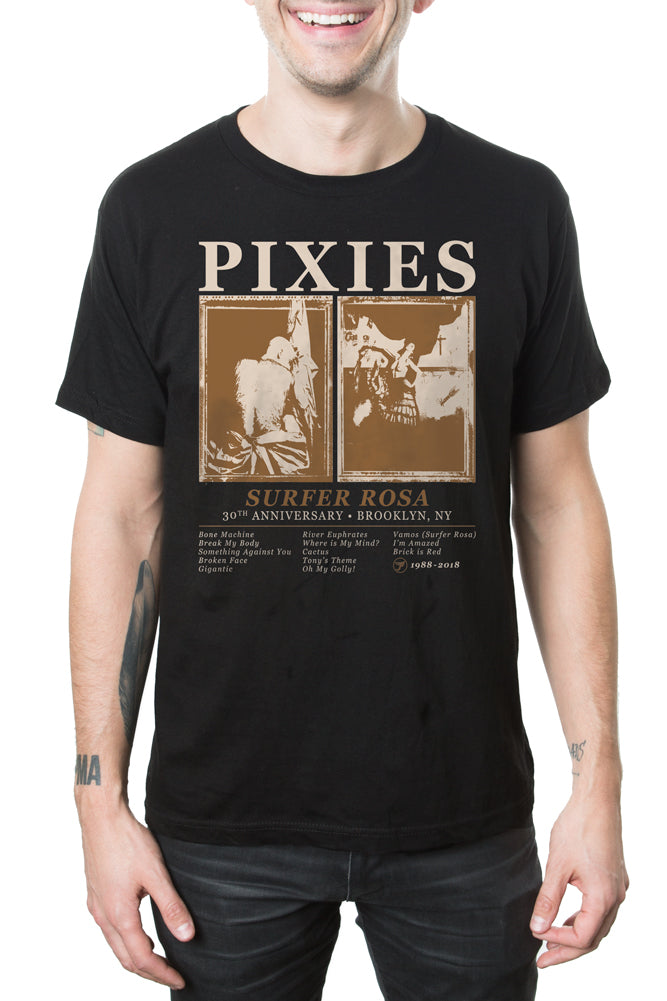 Pixies 30 Year Tee Black