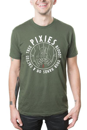 Pixies Cactus 2019 Tee Military Green