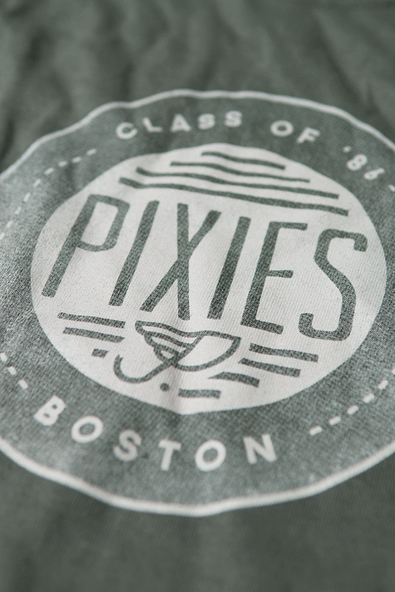 Pixies Class of '86 Tee Olive