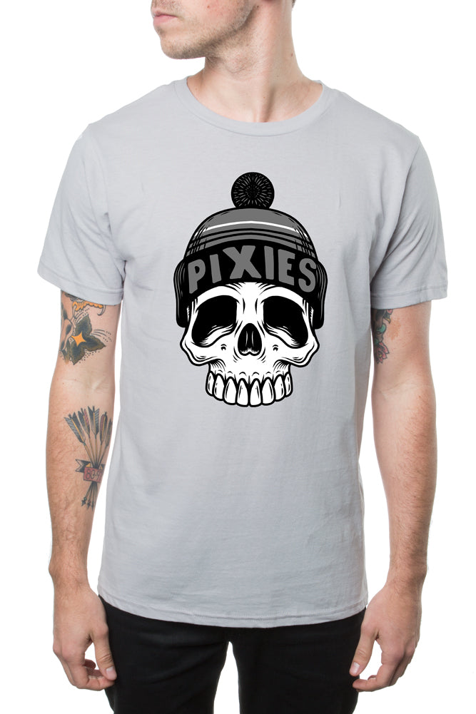 Pixies Cold Skull Tee Silver