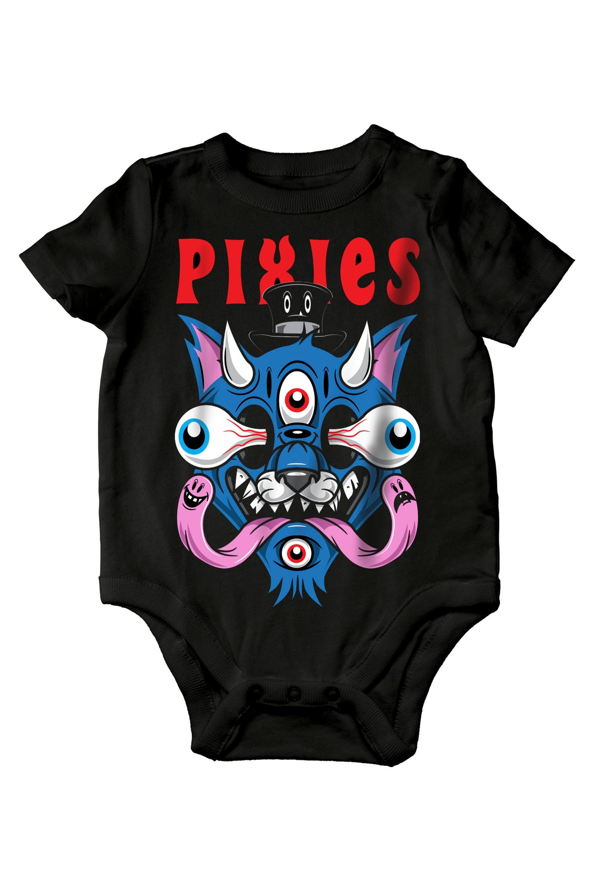 Pixies Demon Kitty Onesie Black