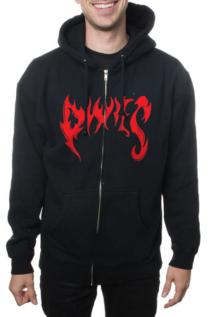 Pixies Devil is 6 Zip Hoodie Black