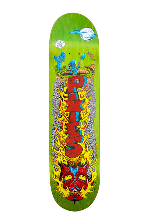 Pixies Digging For MPS Skate Deck - Green