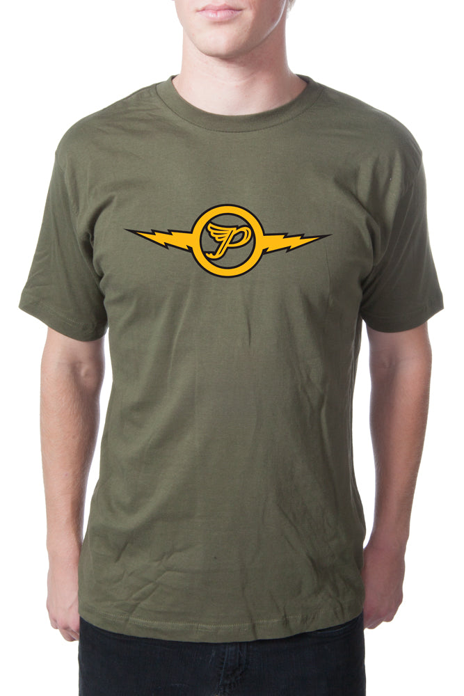 Pixies Lightning Tee Military