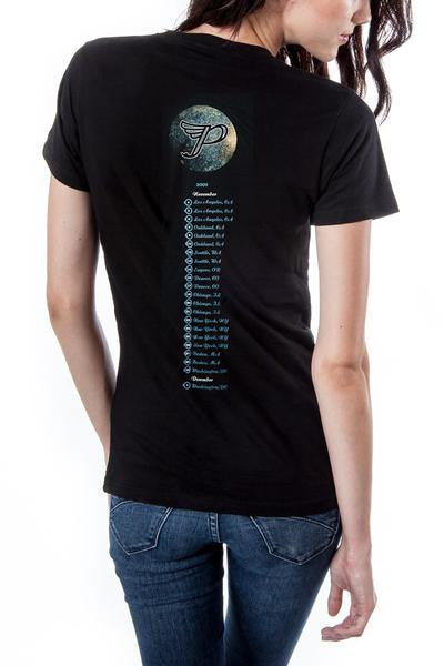 Pixies Monkey Circle Tour Tee Black