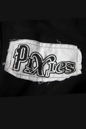 Pixies Patch Zip Hoodie Black