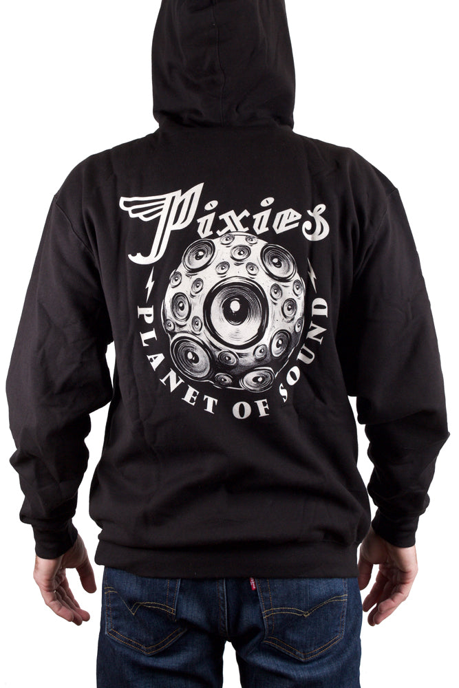 Planet of Sound Pullover Hoodie Black