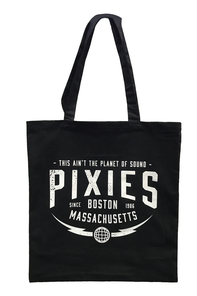 Pixies Planet of Sound Tote Black