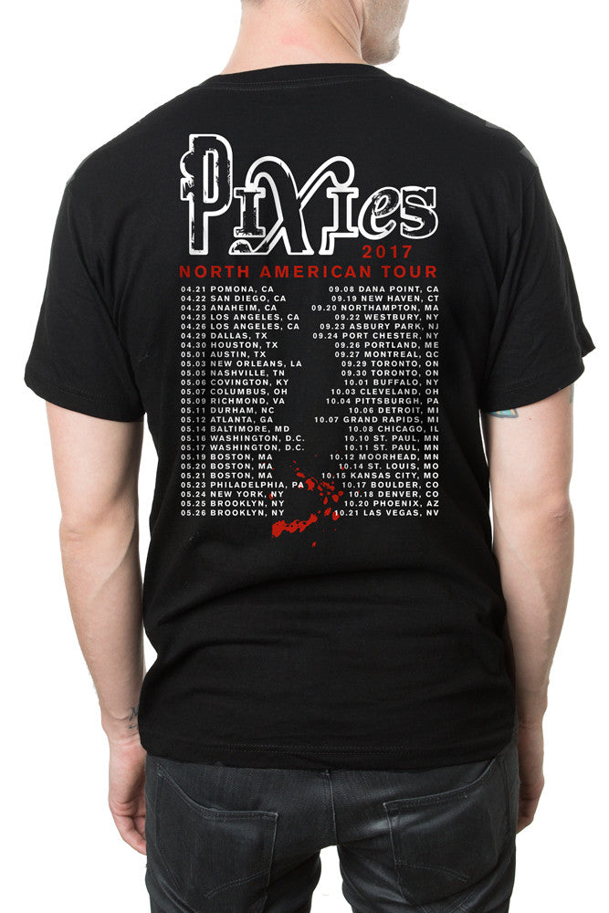 Pixies Punch Tee Black