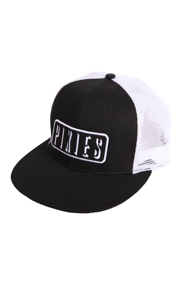 Pixies Shadow Patch Trucker Hat Black